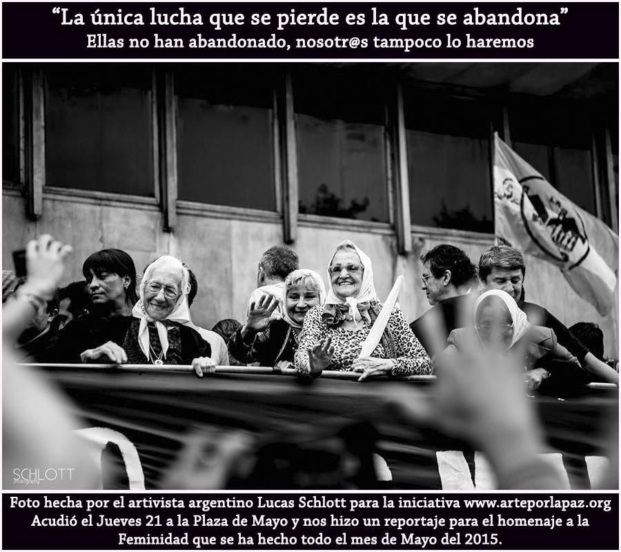 Madres y Abuelas Plaza de Mayo
