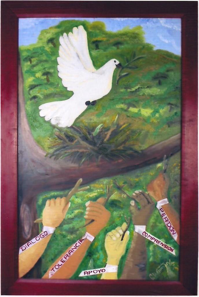 Para que la paz se quede